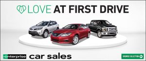 Love at first drive - Enterprise Car Sales. Browse selection.