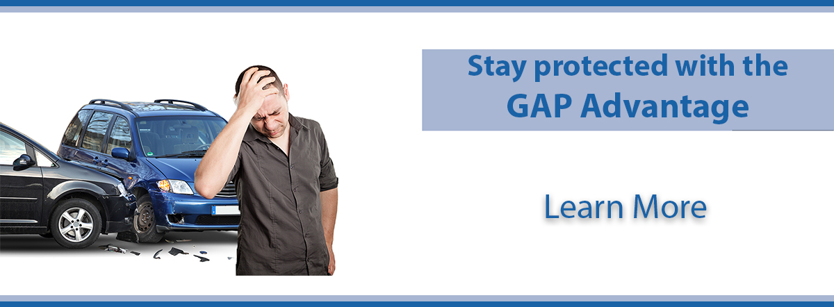 stay protected with gap advantage. learn more