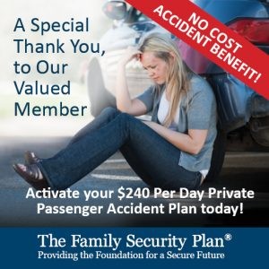 Private Passenger Accident Insurance. Learn More
