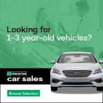 looking for 1-3 year old vehicles? enterprise car sales. browse selection