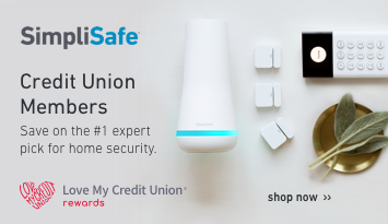 simplisafe- credit union members save on the #1 expert pick for home security. shop now.
