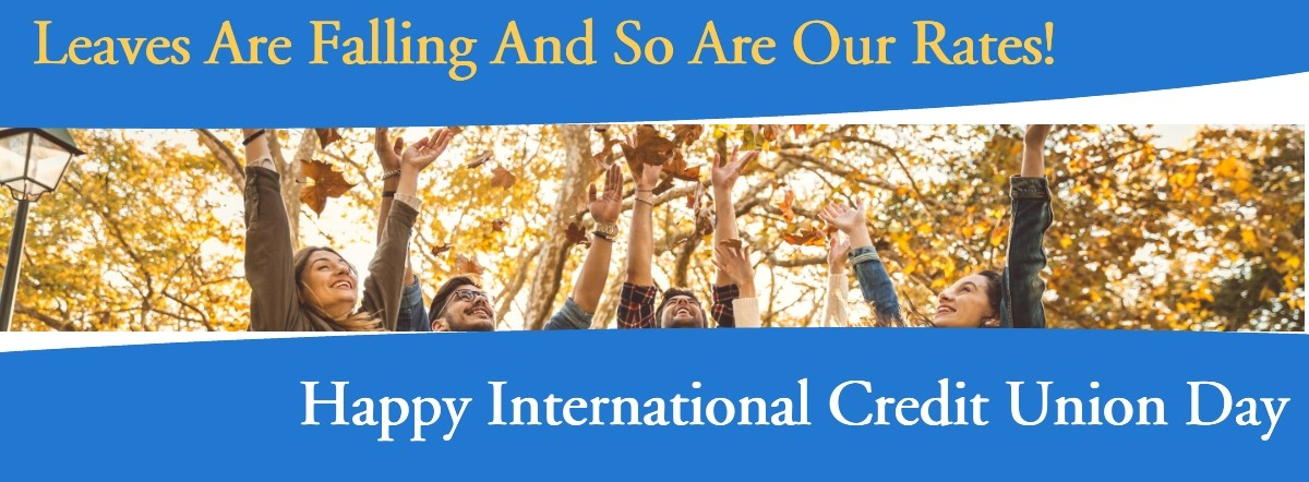 leaves are falling and so are our rates! Happy ICU Day